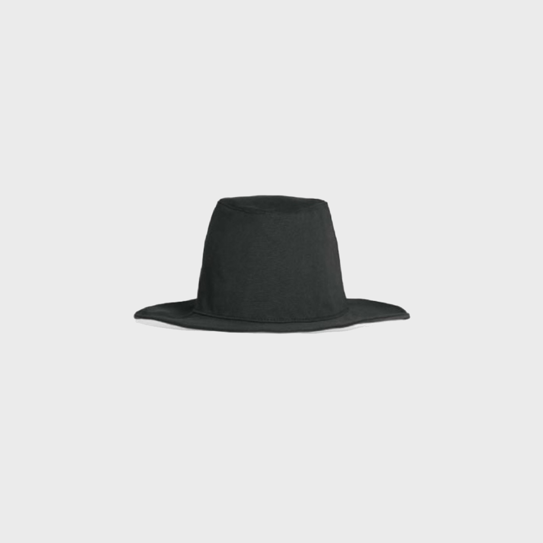 Natural fedora (black)