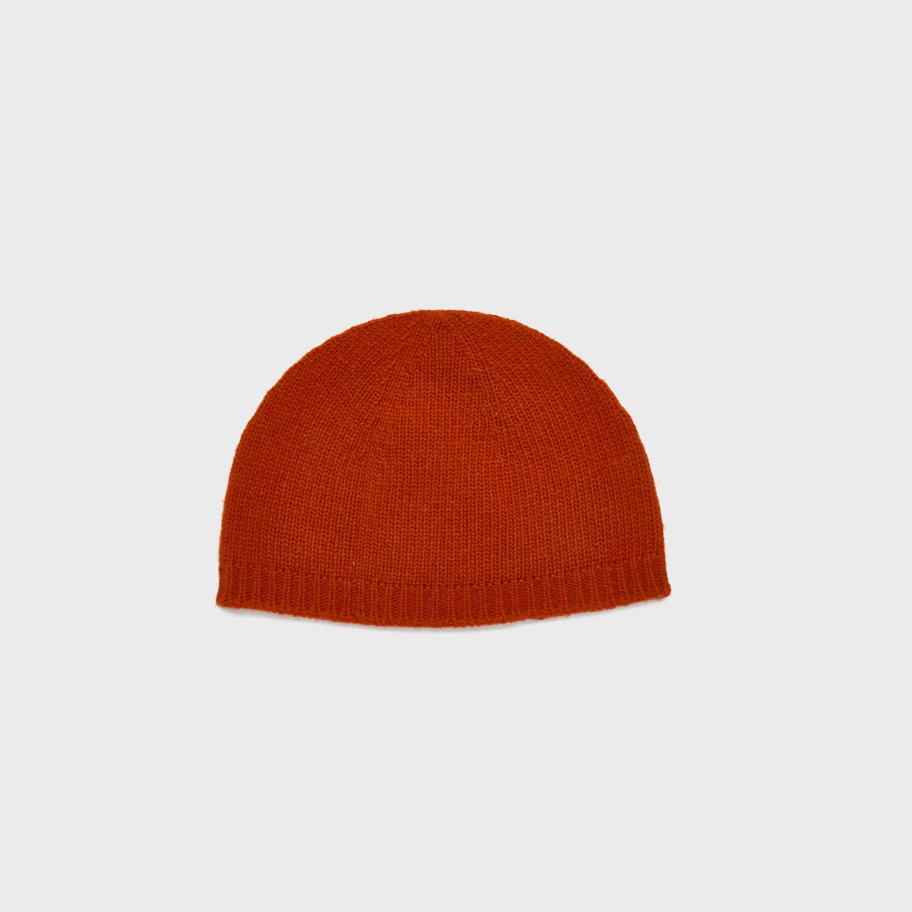 Wool watch cap (red)