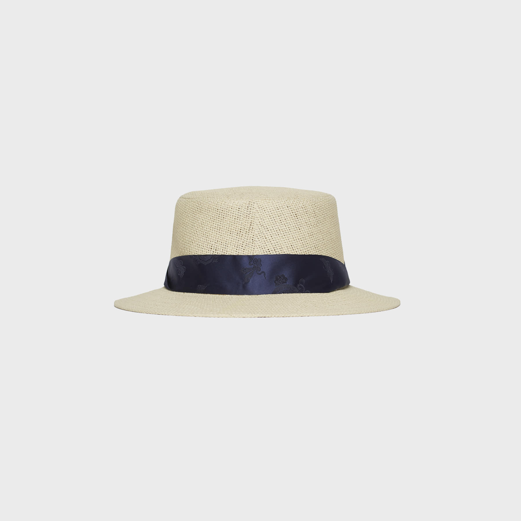 flower panama (navy)