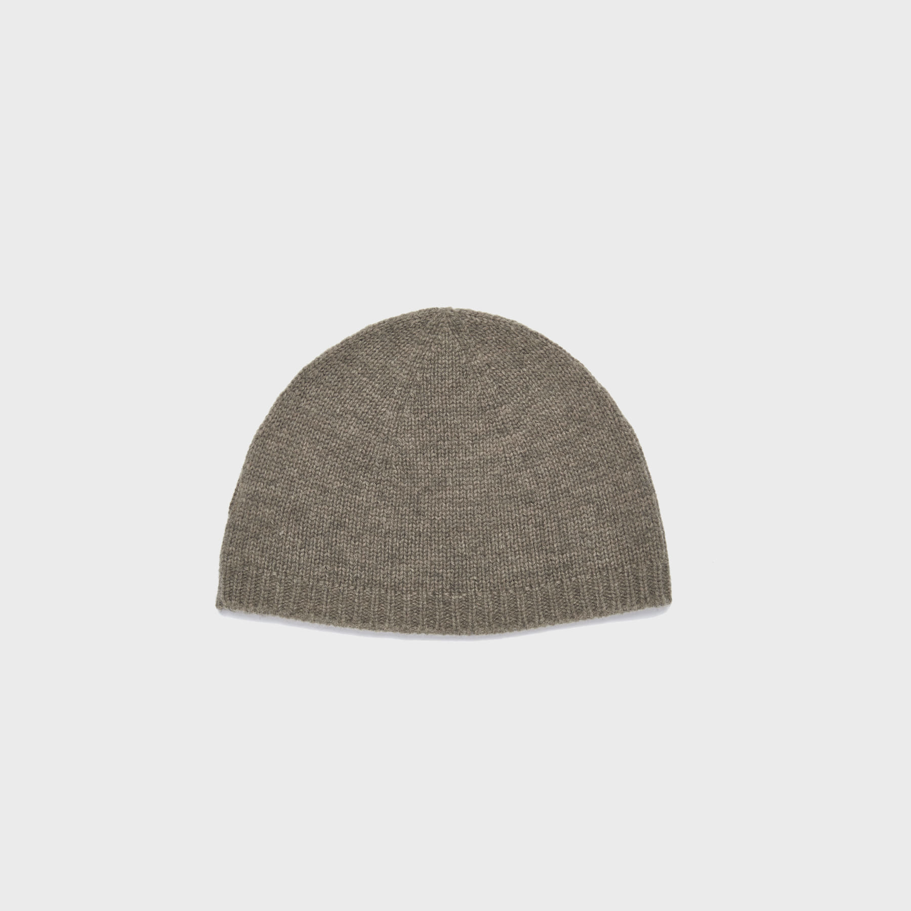 Wool watch cap (brown)