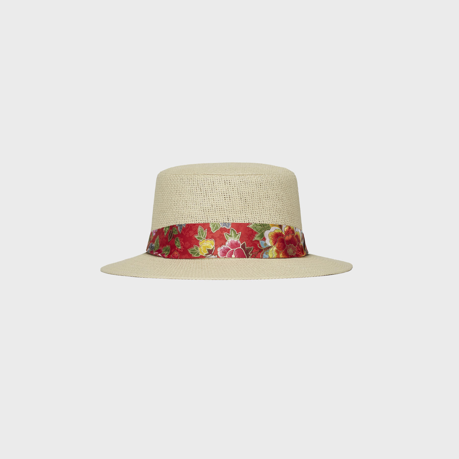 flower panama (red)